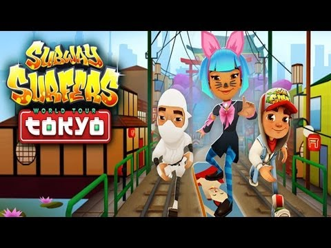Subway Surfers: Tokyo - Sony Xperia Z2 Gameplay