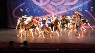PG FAM - World Of Dance Seattle 2013 - Music is an Element