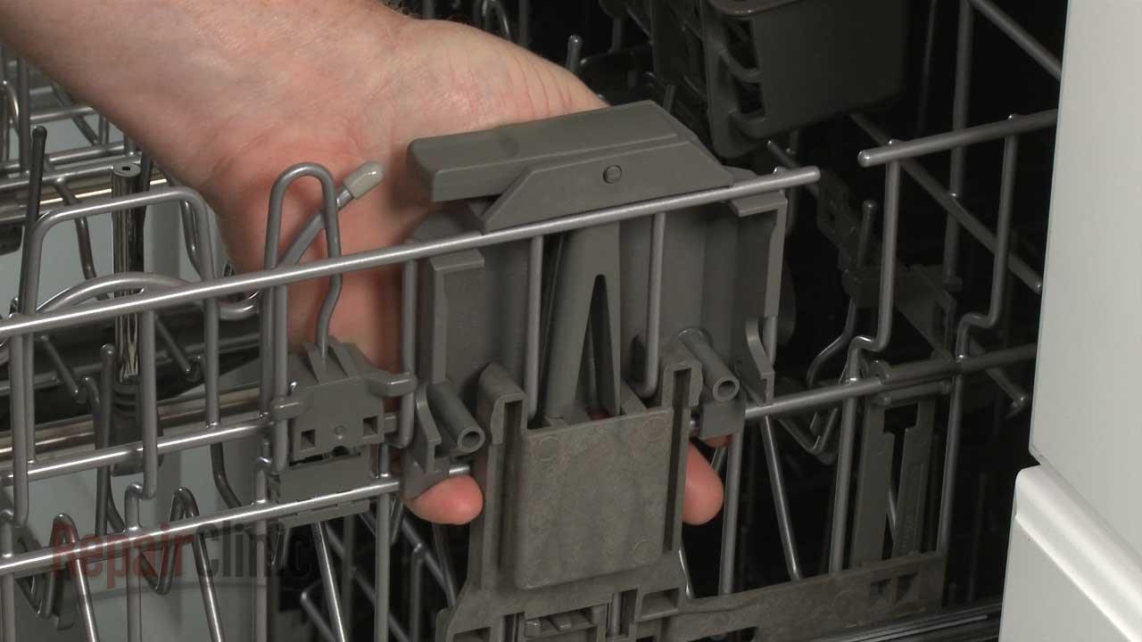 KitchenAid Dishwasher Right Rack Adjuster Housing