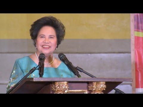 FULL SPEECH: Miriam Defensor Santiago at the University of Perpetual Help, Laguna