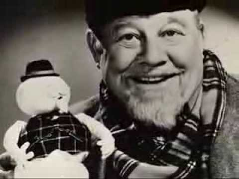 Burl Ives :::: Snow For Johnny (With Lyrics).