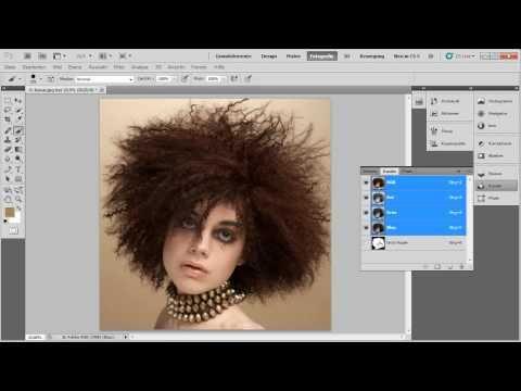 Freistellung Mit Farbkanälen - Die Photoshop-Profis - Folge 18