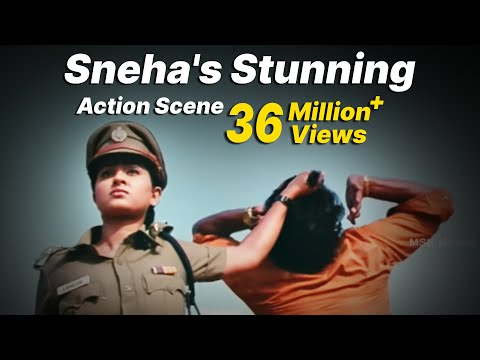 "Sneha's Stunning Action Scene - ""Bhavani IPS""  Super Hit Action Movie Scene thumbnail"