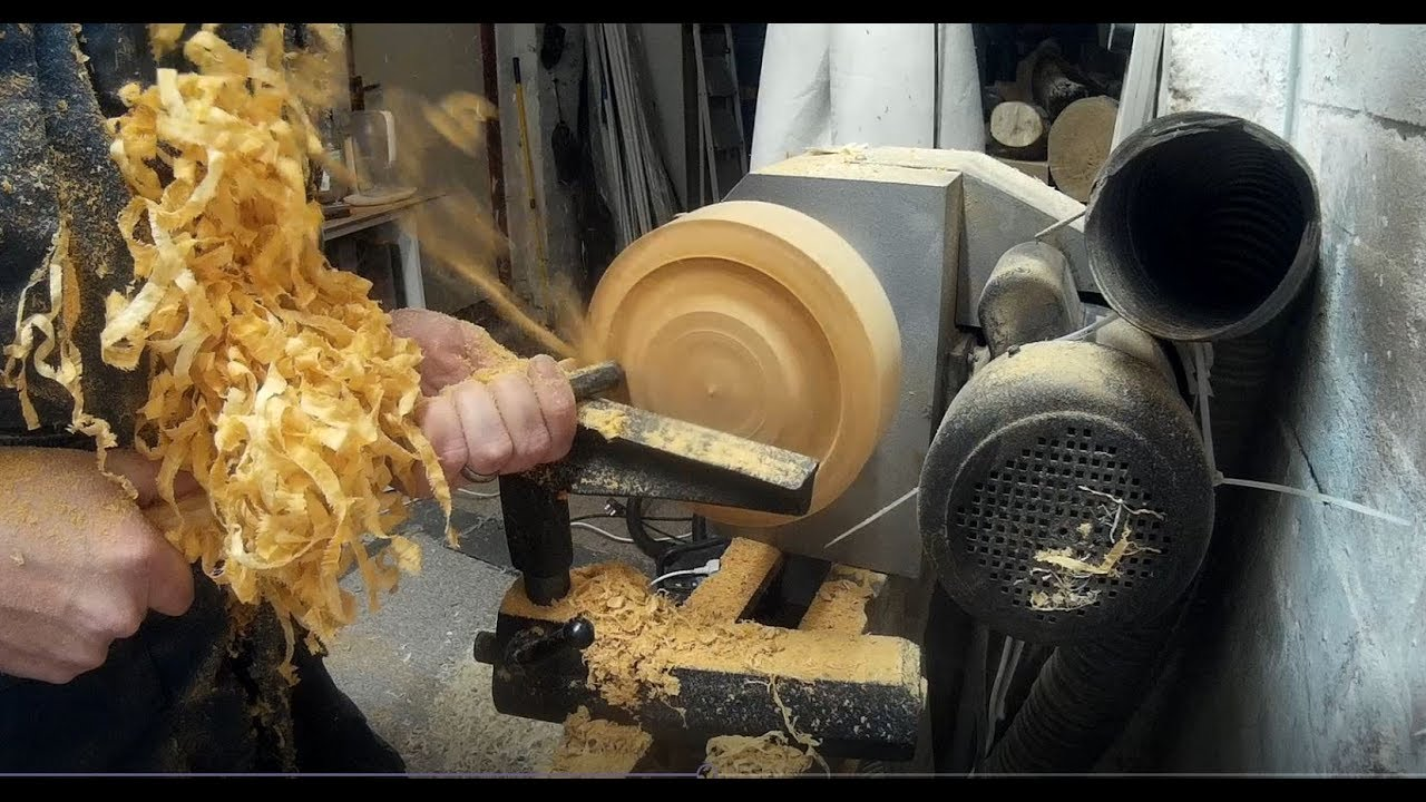 Woodturning - Olivewood Bowl