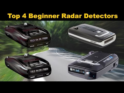 Top 4 Beginner Radar Detectors