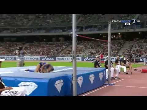 Inika McPherson 1.93 ( Paris DIAMOND LEAGUE 2016. High jump women )