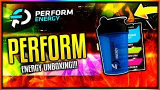 *NEW* @PERFORMGG STARTER PACK UNBOXING & TASTE TEST! ! (PERFORM ENERGY UNBOXING!)
