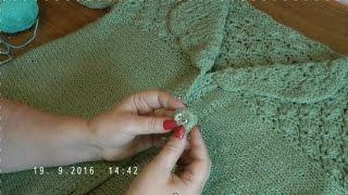 Как сделать пуговицы для вязанных вещей