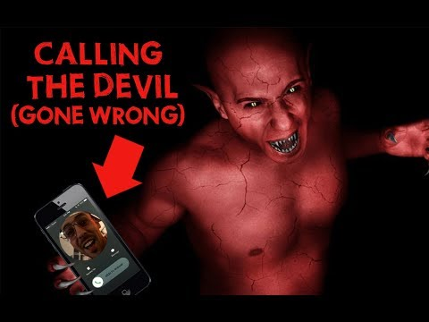 (GONE WRONG) CALLING THE DEVIL (HE ANSWERS!!!) 666