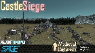 Medieval Engineers, Castle Siege Guide