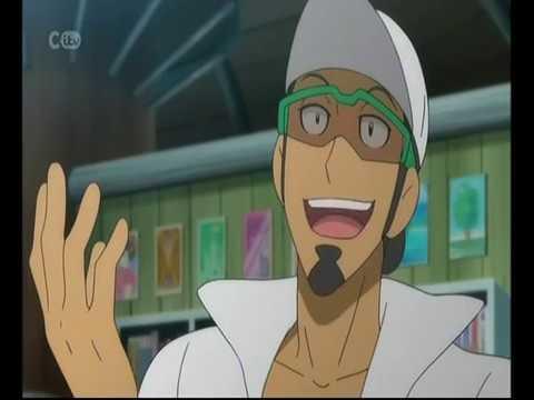 Pokemon The Series Sun & Moon Professor Kukui Debut
