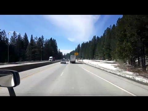 BigRigTravels LIVE! McCarran, Nevada to...I-80 & I-5-Mar. 6, 2018
