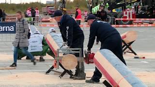 видео Щепки летят: в Екатеринбурге проходят всероссийские соревнования «Лесоруб-2018»