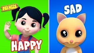 Opposite Words   Learning Videos for Children   Kids Cartoons
