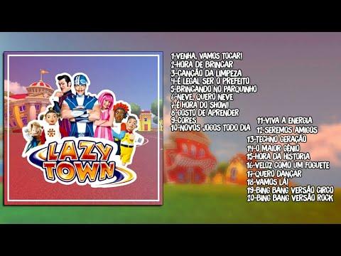 CD LazyTown  Vamos Lá! Fan Made