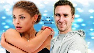 Алена Косторная вместе с хореографом Глейхенгаузом представили отрывок новой программы
