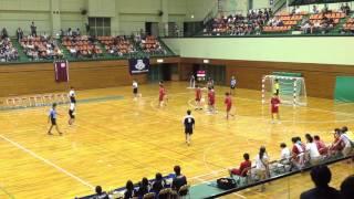 ハンドボール 西日本インカレ2013 関西大ー中部大 前半2