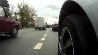 Test drive GoPro (дорого из тверской области)