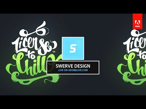 Live Illustration in Photoshop with Swerve Design 2/3 - hosted by Rufus Deuchler