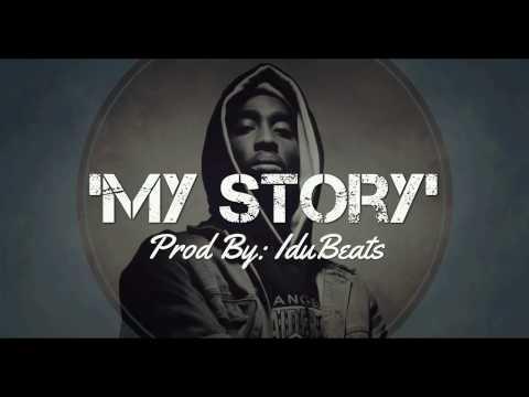 """My story""► Inpiring Motivational beat hiphop Instrumental - IduBeats (boom bap style)"