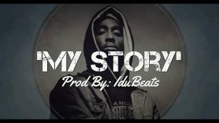 """My story""► Inpiring Motivational beat hiphop Instrumental - IduBeats (boom bap style)"
