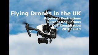 Flying Drones in the UK.  Drone Laws and Proposed New Regulations