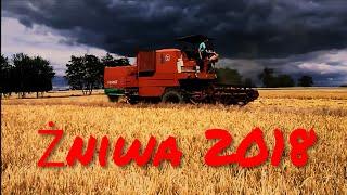 Żniwa 2018 /Jęczmień /Bizon ZO56 & U-R-S-U-S C-360 & Przyczepy
