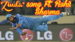 """Zinda hoon main "" Song Dedicated to Rohit Sharma | Zinda Song ft. To Rohit Sharma  | Hit man Sharma"