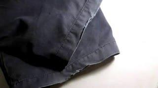 Ремонт одежды.Ремонт низа брюк,простой способ.