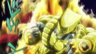 jojos dios the world za warudo hd