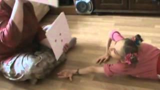 Первый Лерин урок математики по Глену Доману