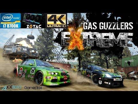 i7 8700K - GTX 1080TI Zotac AMP Extreme - Gas Guzzlers Extreme - ULTRA! 4K