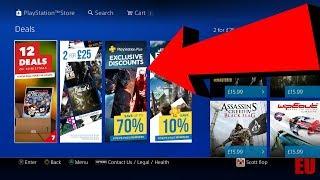 PS4 Christmas DEALS - 2 for 25 - PS PLUS Exclusive Discounts EU