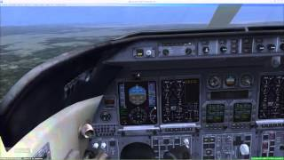 ILS Approach - 3 Inital Approach Fixes - Part 2