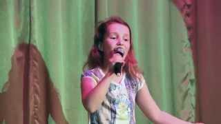 """""""Песня - это птица"""". Элина Пузанкова, 9 лет. 27 мая 2015 года."""