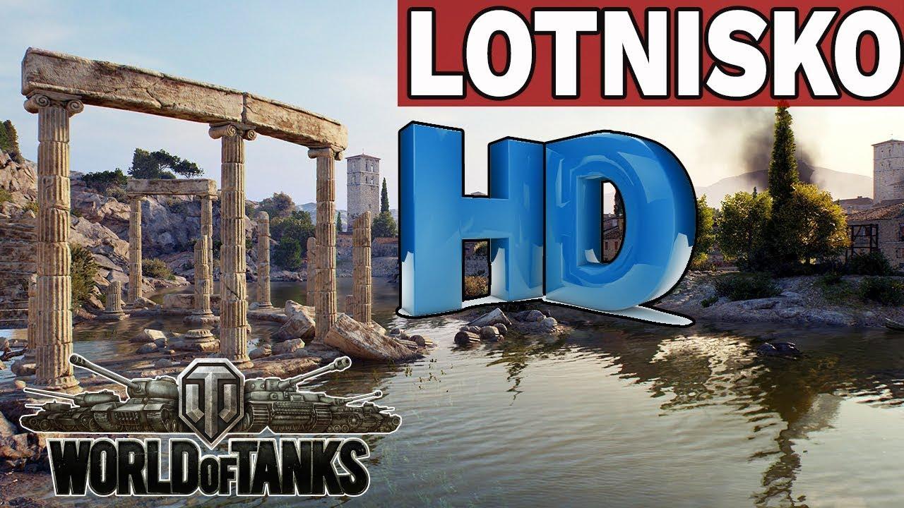 LOTNISKO  – MAPY  HD – World of Tanks