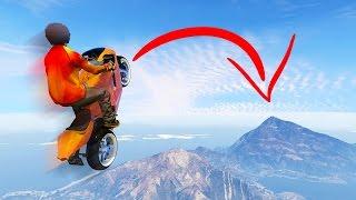 WORLD'S LONGEST BIKE JUMP! (GTA 5 Funny Moments)