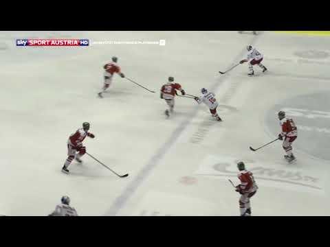 Erste Bank Eishockey Liga 17/18. 19. Runde: HV Bozen - EC Red Bull Salzburg 2:3