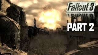 MEGATON - Fallout 3 Let's Play Part 2 - PC 1080P Max Settings Gameplay