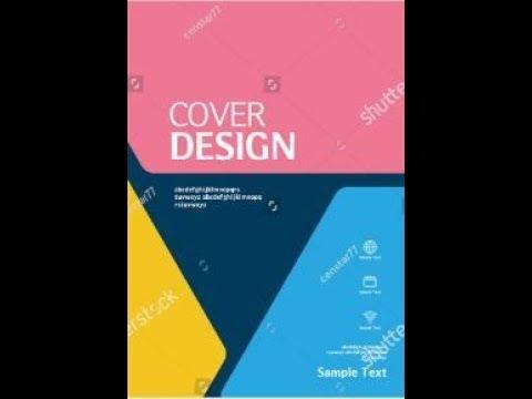 #Illustrator #book_cover_design #tutorial. How to Make a Book Cover Design Tutorial Live Class-6 thumbnail