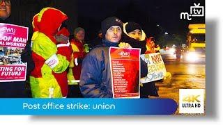 Post office strike: union