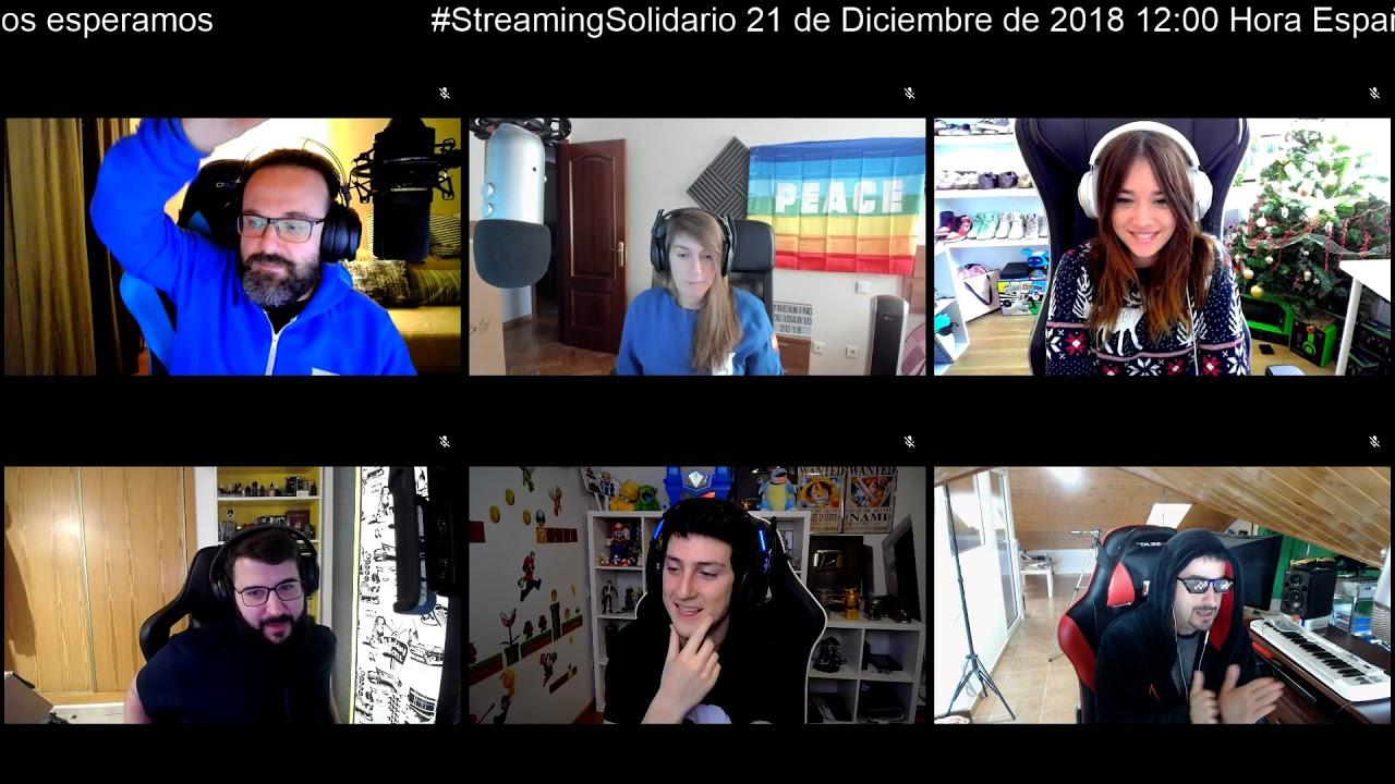 Anuncio Streaming Solidario Juegaterapia - 21 y 22 de diciembre 2018 -