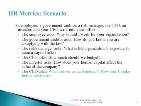 HR Metrics 2017 Key Issues for Human Resource Management - YouTube - hr metrics