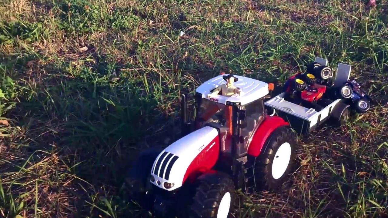 трактора игрушечные картинки