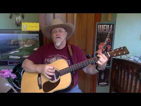 1508b -  Luckenbach Texas  - Waylon Jennings cover  - Vocals -  Acoustic guitar & chords