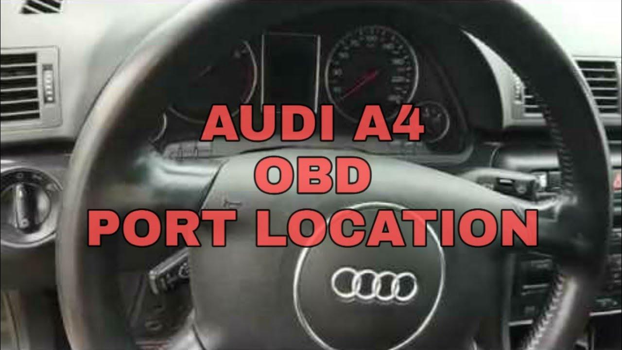 Audi A40 B40 40 OBD Port Location 🚗👨🔧