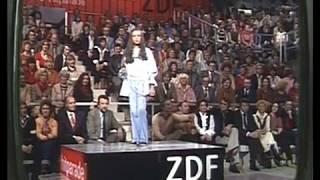 Andrea Jürgens - 1. Auftritt in der ZDF Hitparade am 06.03.1978