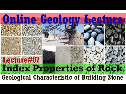 Geological Characteristic of Building Stone