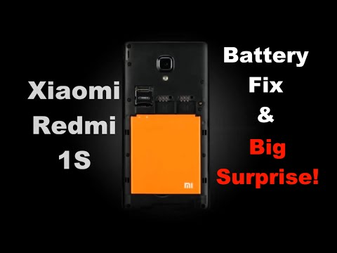 Xiaomi Redmi 1S Battery Fix - 6 Steps to ultimate battery life!