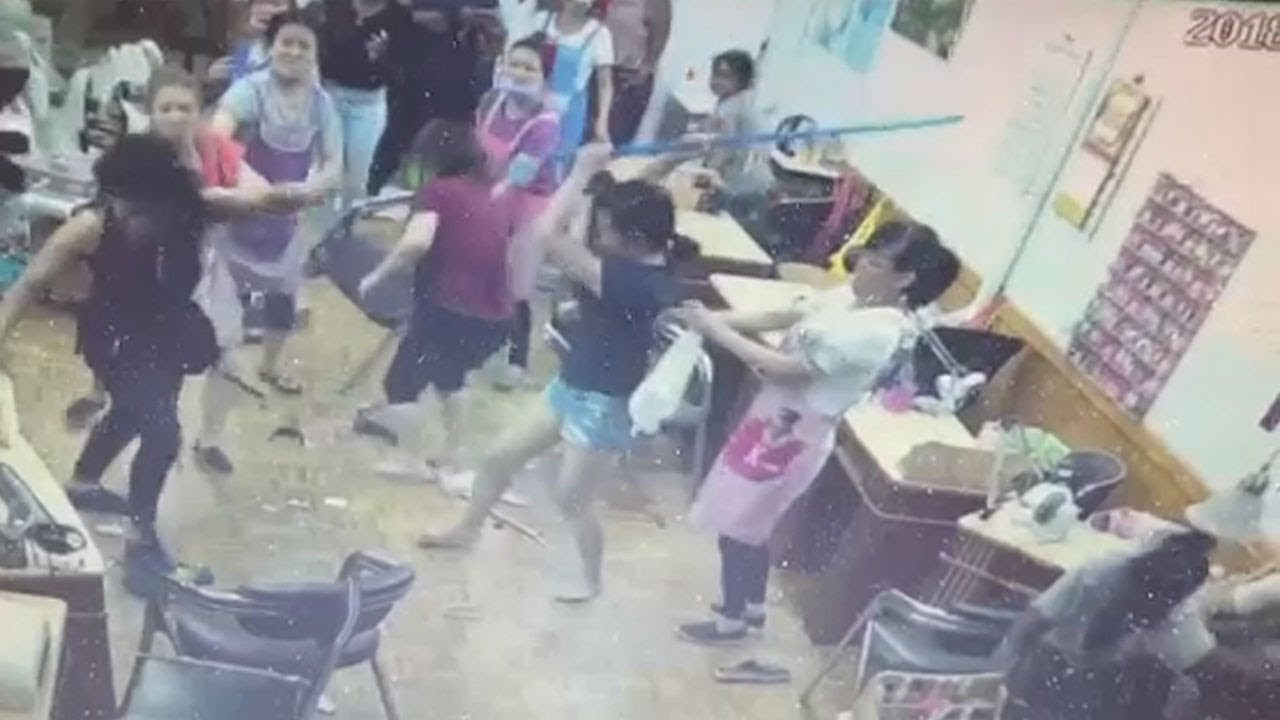 Asian Women Fights And Brawls - Asian - Photo Xxx-7647